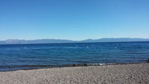 We got to see Lake Tahoe before heading home! It was beautiful!