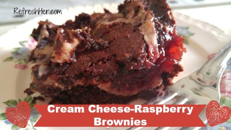 Rasp. brownies