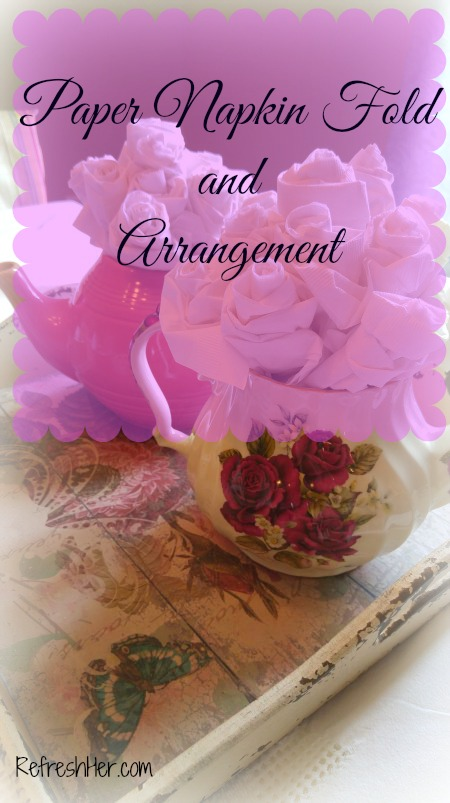 paper napkin arrangement 1
