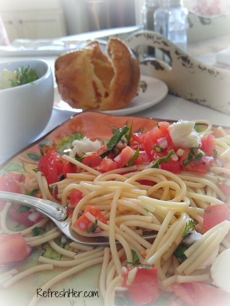 Refreshing Summertime Pasta Dish