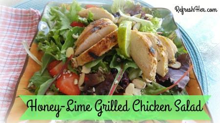Griled chicken salad