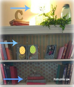 spring bookshelf b