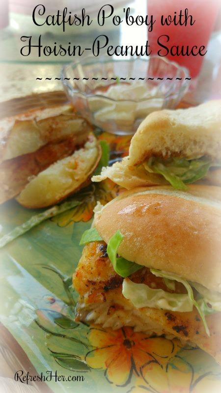 Catfish Sandwich a