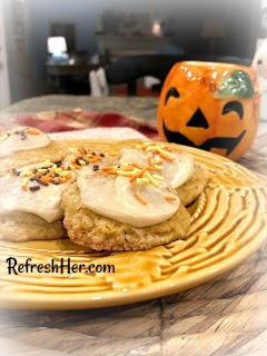pumpkin cookie 2
