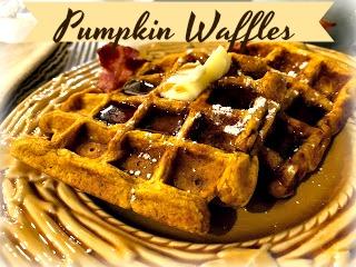 pumpkin waffle 2