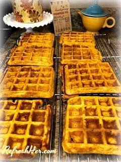 pumpkin waffle 4