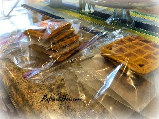 pumpkin waffle 6