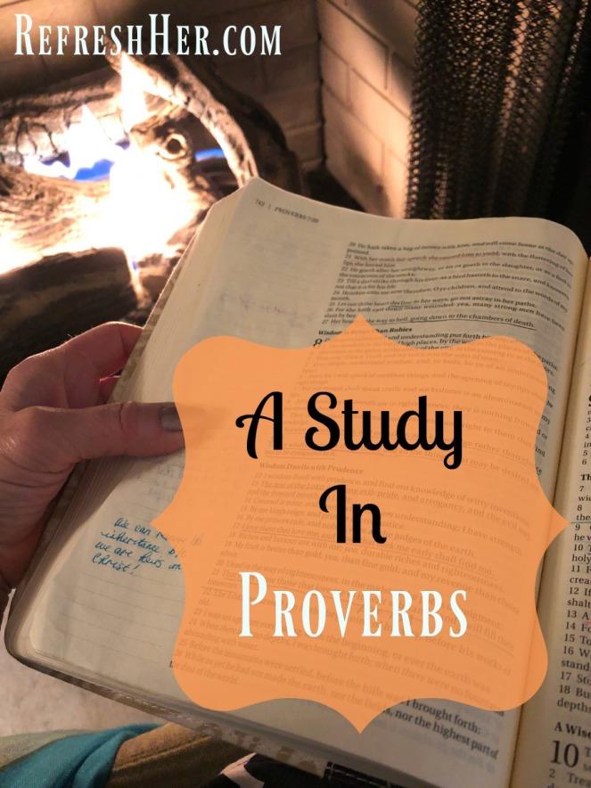 Proverbs a