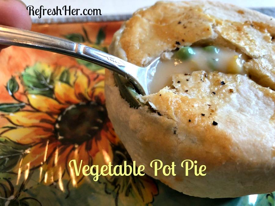 Vegetable pot pie 1