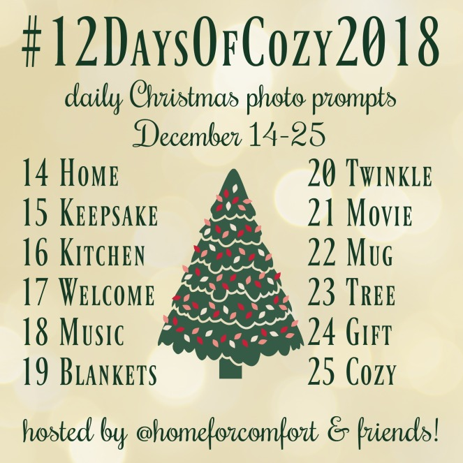 12 Days of Cozy 2018