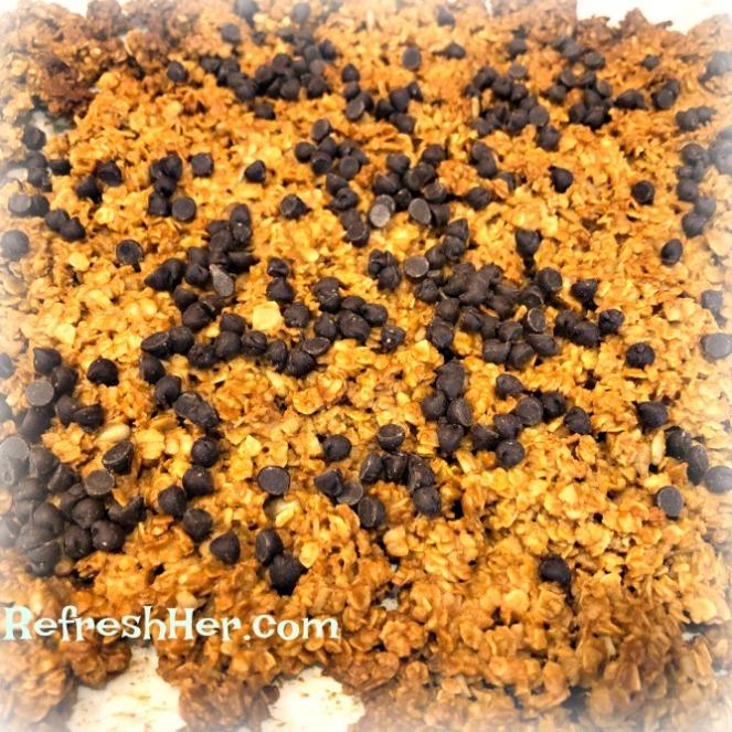 peanut butter granola 1
