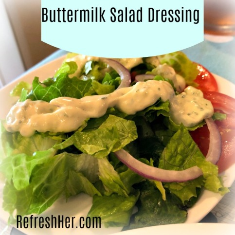 Buttermilk salad dressinga